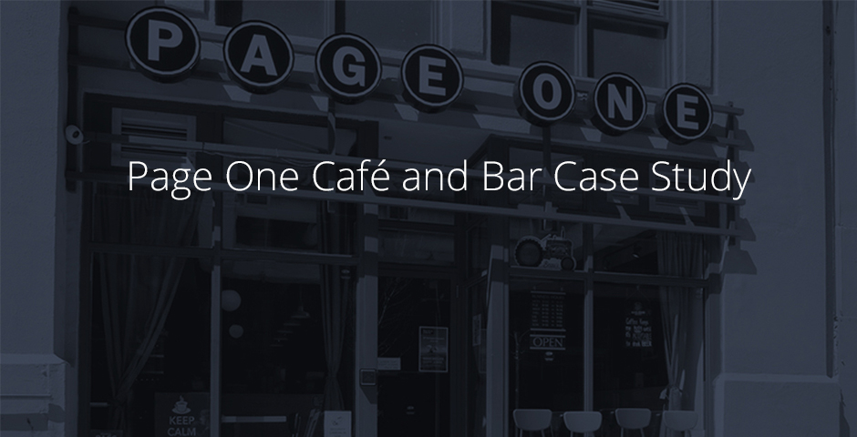 Page One Café and Bar