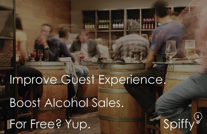 A Spiffy New Way to Boost Alcohol Sales and Improve Restaurant Guest Experience