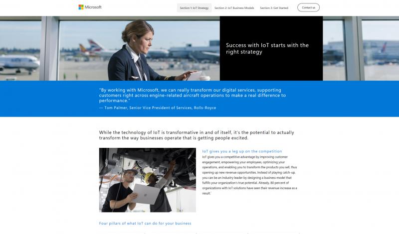 Microsoft IoT Business Model