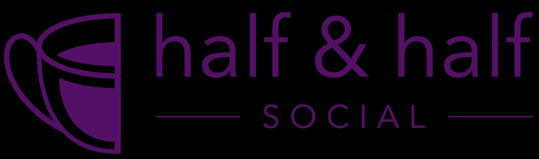 Half & Half Social Media Lifestyle