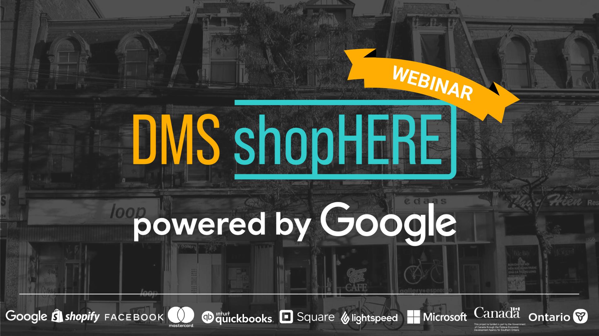 ShopHERE Powered By Google Webinar
