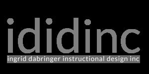Ingrid Dabringer Instructional Design Inc